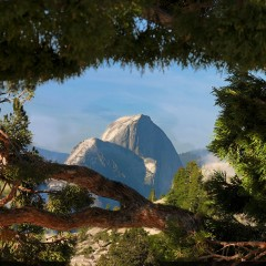 Half Dome From Olmsted Point (YOS-030)