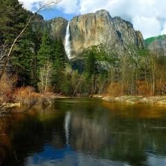 Yosemite Falls Blue Reflection (YOS-028)