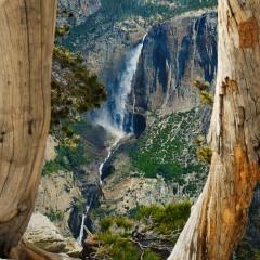 Yosemite Falls from Sentinel Dome (YOS-018)