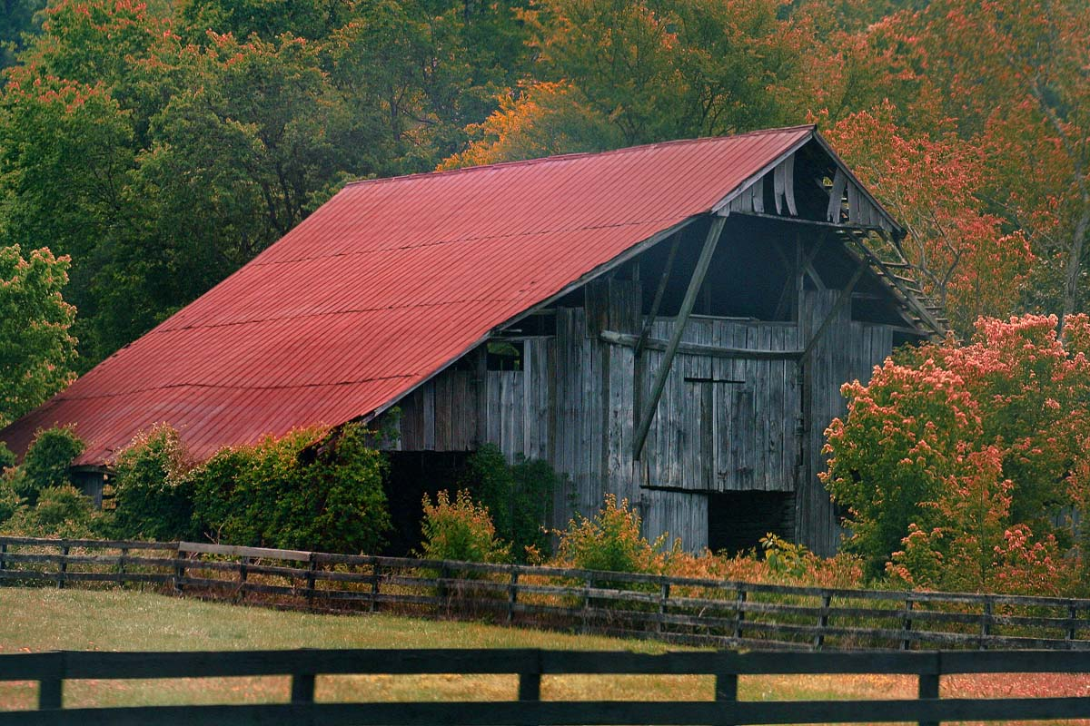 Barns Canvas Prints By Jerome