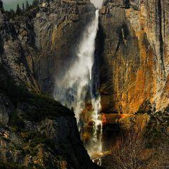 Golden Yosemite Falls (YOS-013)