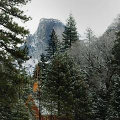 Yosemite Church and Half Dome (YOS-006)