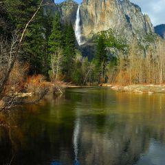 Yosemite Falls Blue Reflection (YOS-008)