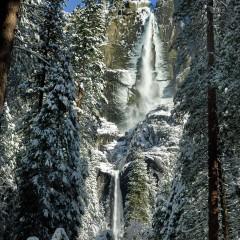 Yosemite Falls Winter Snow (YOS-007)
